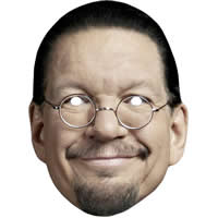Penn Jillette Penn and Teller Mask