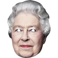 Queen Elizabeth 2 No Hat Mask