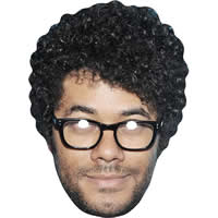 Richard Ayoade IT Crowd Celebrity Mask