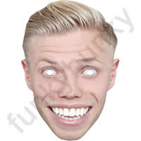 Rob Beckett Comedian Mask