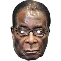 Robert Mugabe Politician Mask