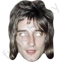 Rod Stewart 1980s Celebrity Singer Mask