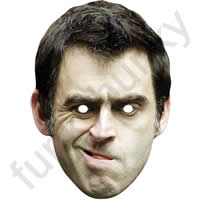 Ronnie O'Sullivan Snooker Mask Version 1