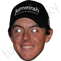 Rory Mcilroy Golf Legend Mask