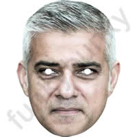 Sadiq Khan Politician Mask