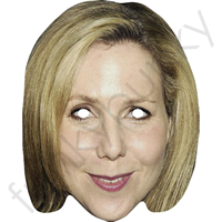 Sally Phillips Comedian Celebrity Mask