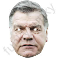 Sam Allardyce England Manager Football Mask