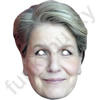 Sandi Toksvig Mask - Celebrity Bake Off