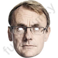 Sean Lock Comedian Mask*