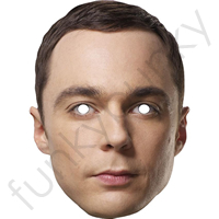 Sheldon Cooper Celebrity Actor Mask*