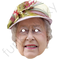 2012 Updated Queen Of England Royal Mask