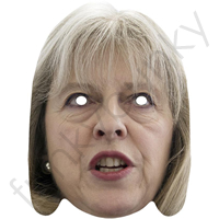 Theresa May Politician Mask