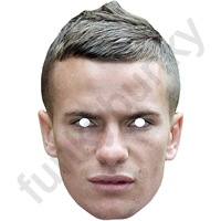 Tom Cleverley Footballer Mask