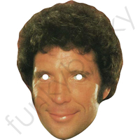 Tom Jones 1980s Retro Mask