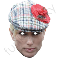 Zara Phillips With Hat Royal Mask