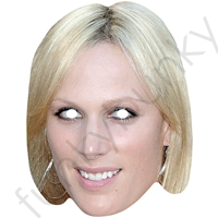 Zara Phillips Royal Mask