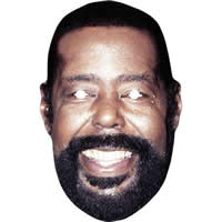 Barry White Retro 1980's Mask*