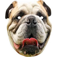 British Bulldog Animal Dog Mask