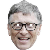 Bill Gates - Microsoft Man Mask