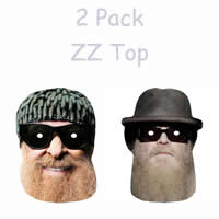 2 Pack - ZZ Top Singers Masks
