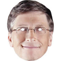 Bill Gates Retro - Microsoft Man Mask