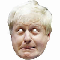 Boris Johnson Version 3 Mask