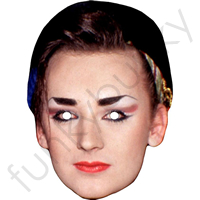 Boy George 80s Mask