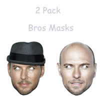 2 Pack Bros Mask