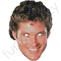 David Hasslehoff Retro Mask