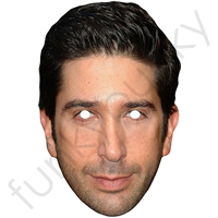 Friends David Schwimmer Mask