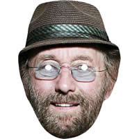 Dave Hodges from Chas & Dave Mask