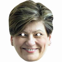Emily Thornberry Politician Mask