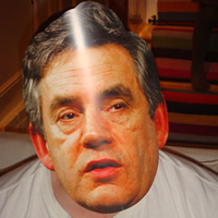 Gordon Brown Mask