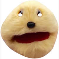 Gordon The Gopher Mask