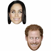 Prince Harry & Meghan Mask