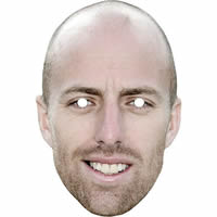 Jack Leach Cricket Mask