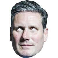 Keir Starmer Labour Politician Mask