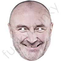 Phil Collins Mask