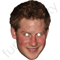 Prince Harry 2012 Royal Mask