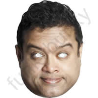 Paul Sinha From The Chase Mask