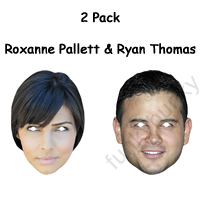 2 Pack - Ryan Thomas and Roxanne Pallett