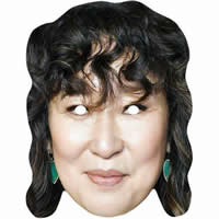 Sandra Oh Killing Eve Mask