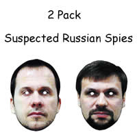 2 Pack - Suspected Russian Spies Mask*