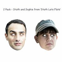 2 Pack Stath Lets Flats Masks