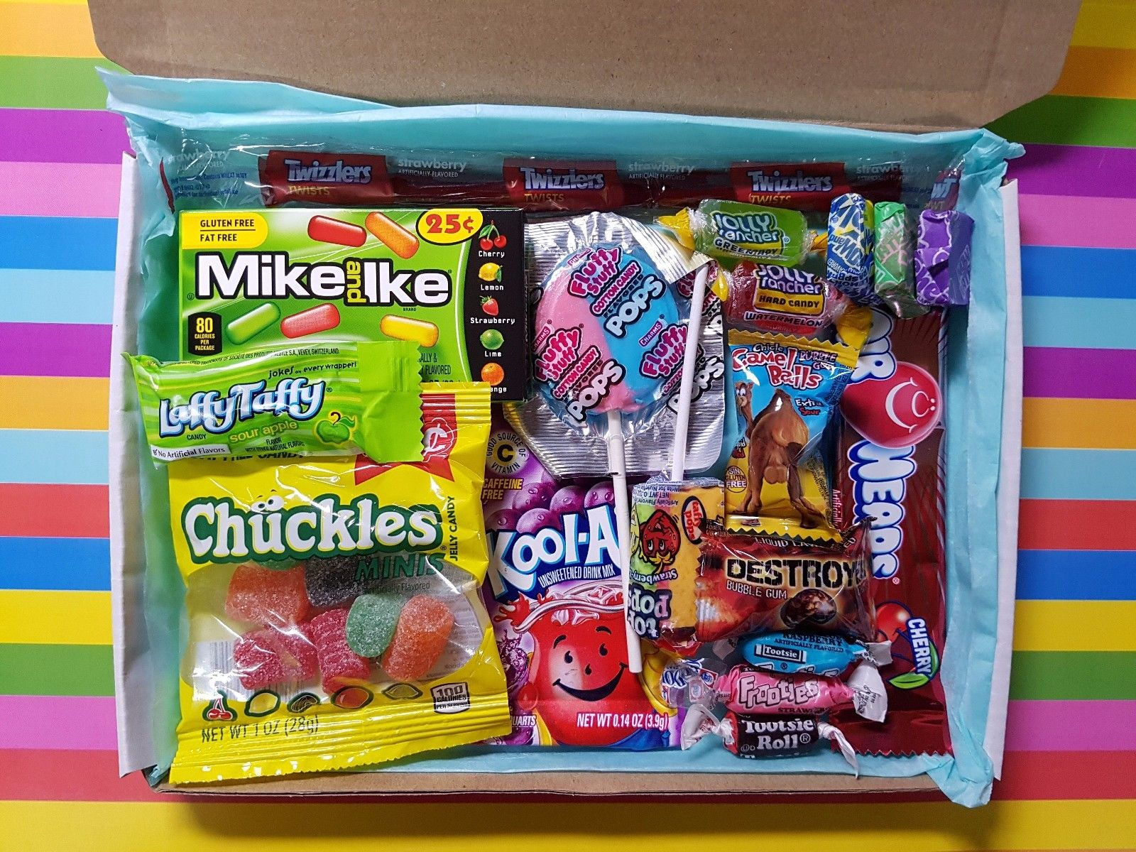 American Candy Gift Box 25