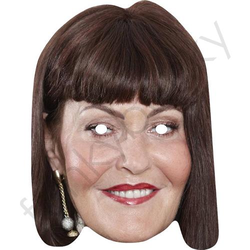 Hilary Devey Dragons Den Celebrity Face Mask - Hilary-Devey