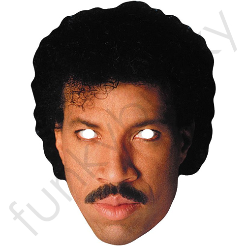 Lionel Richie 1980 S Mask Personalised And Celebrity