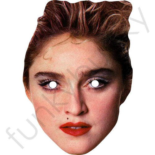 1980 Style Madonna Mask - Personalised and Celebrity Masks With Next Day Delivery